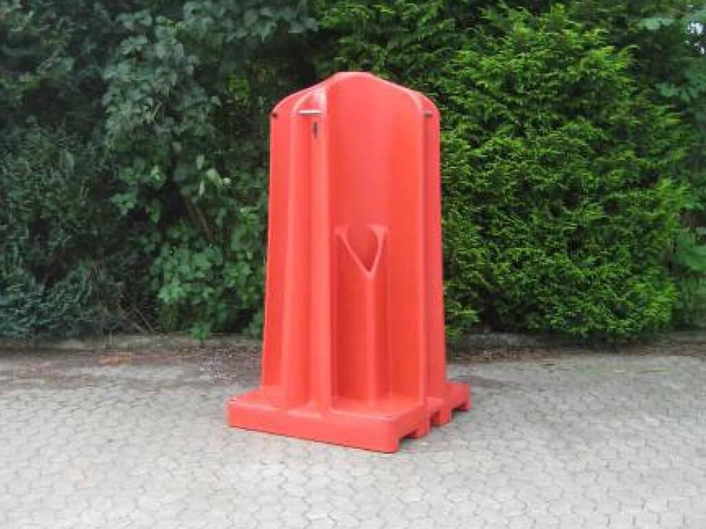urinalsøjle med 4 ståpladser til festival og events
